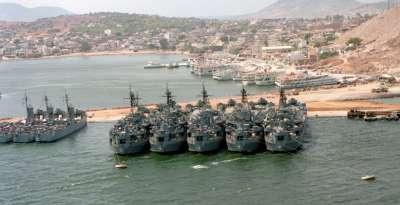 Военно-морская база на Саламине