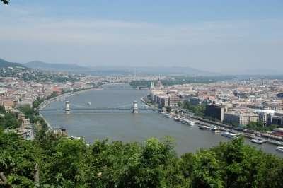Дунай. Мосты, соединяющие Буду и Пешт
