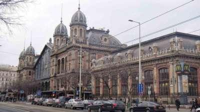 Западный вокзал в Будапеште