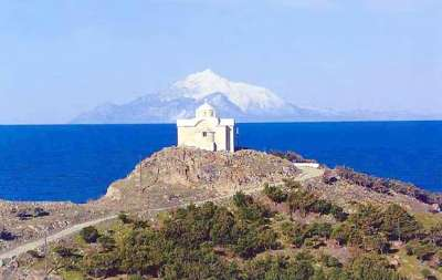 Лемнос. Церковь на горе