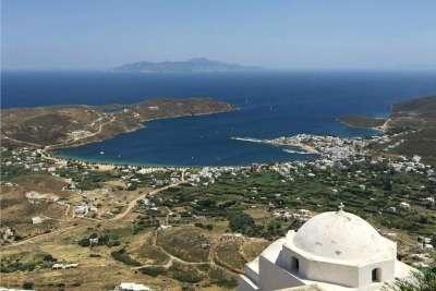 Остров Серифос. Вид на море