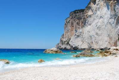 Паксос. Пляж
