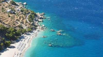 Виллу в Карпатос на берегу моря