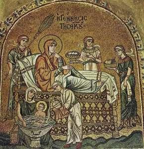 Рождество Богоматери. Монастырь Дафни