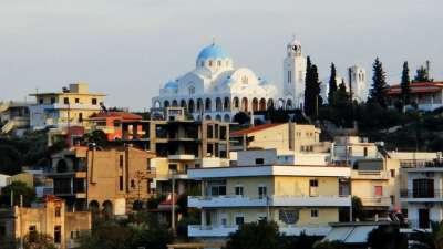 Саламина. Столица острова