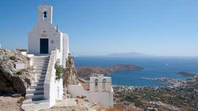 Серифос. Церковь на горе
