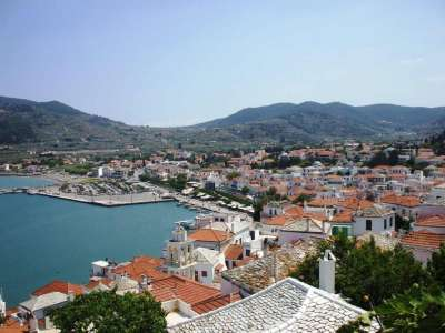 Скопелос (Хора) - главный город острова