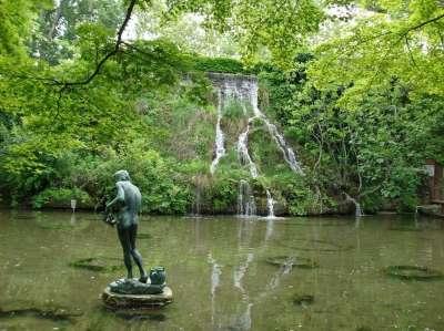 Скульптура в парке Маргит