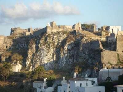 Средневековый замок на Китире