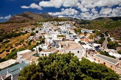 Столица острова Хора (Китира)