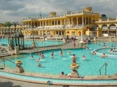 Термальные бани Будапешта