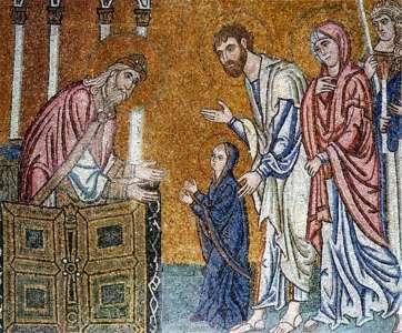 Мозаика монастыря Дафни