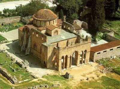 Церковь Успения Богоматери. Вид сверху