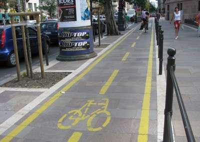 Велодорожки Будапешта