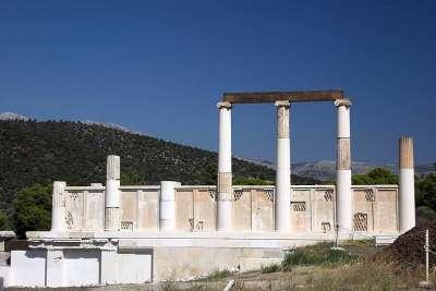 Алтарь Храма Асклепия в Эпидавре
