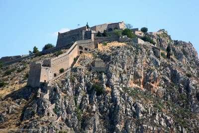 Венецианская крепость Паламиди