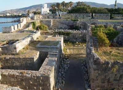 Замок Иоаннитов. Мощь внутренних стен