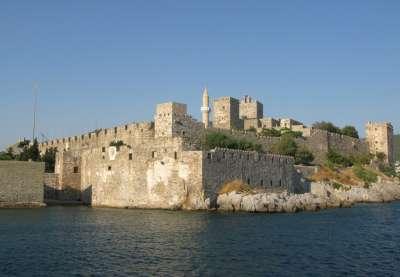 Замки Греции. Крепость иоаннитов