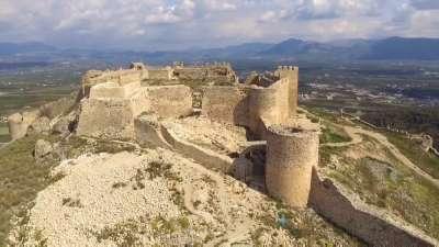 Древняя крепость Ларисса в Аргосе