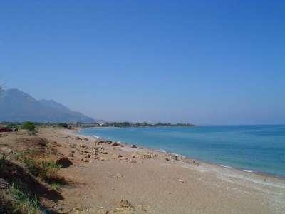 Морское побережье в районе Спарты