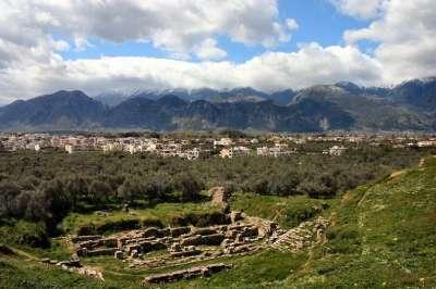 Руины Древней Спарты