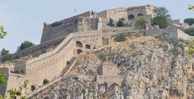 Форт Паламиди в Нафплионе