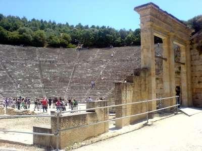 Эпидавр. Древнегреческий театр