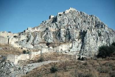 Акрокоринф - крепость на скале