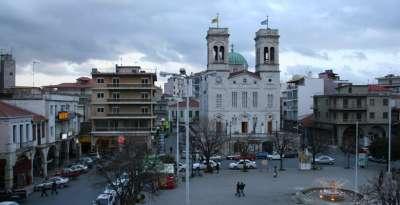 Город Триполис. Греция