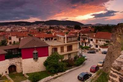 Город Янина в Греции