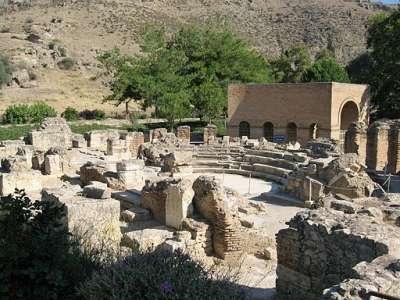 Гортина. Римский Одеон