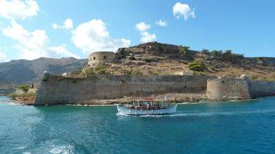 Древняя византийская крепость на Спиналонге