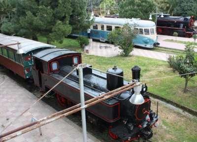 Железнодорожный парк-музей Каламаты