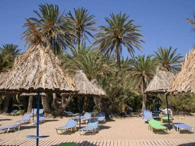 Пляж Ваи. Крит. Греция