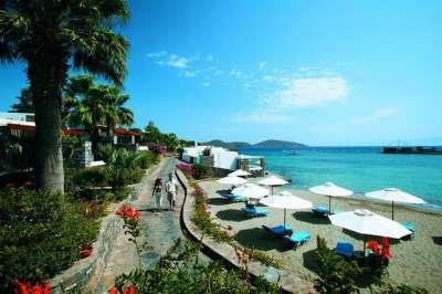 Пляж отеля Элунда Бич
