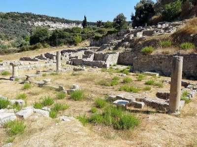 Руины древней Элефтерны
