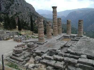 Храм Аполлона Пифийского в Дельфах