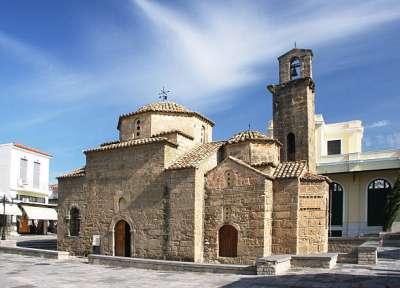 Церковь Святых Апостолов. Каламата