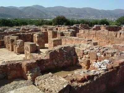 Археологические находки на Крите. Малийский дворец 19-20 век до н.э.