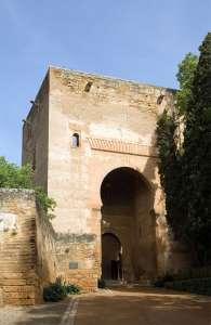 Башня правосудия. Ворота в замок Альгамбра