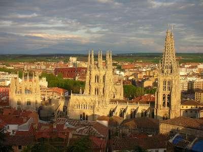 Бургосский Кафедральный собор. Панорама