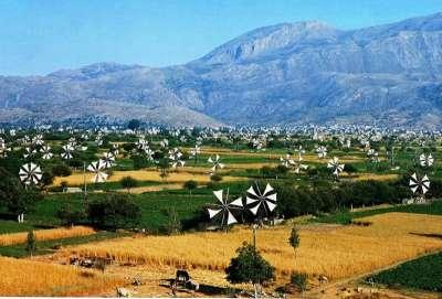 Ветряные мельницы на плато Лассити
