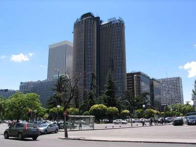 Деловой район Мадрида