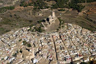 Замок Биар. Вид с высоты