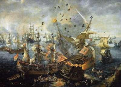 Картина Гиблартарская битва