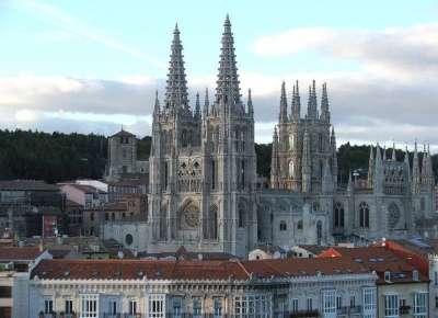 Кафедральный Собор Богоматери. Бургос, Испания.