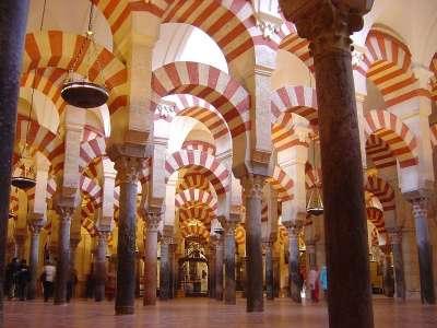 Кордовская мечеть внутри