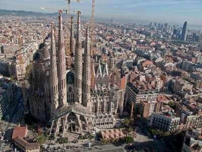 Красоты Испании. Барселона и Храм Саграда Фамилия