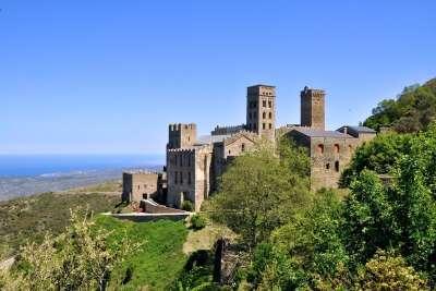Монастырь Сант-Пере-де-Родес в романском стиле