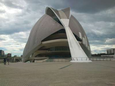 Оперный театр (Дворец искусств) в Валенсии